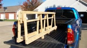 Tacoma plywood rack
