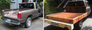 Flatbed truck conversion