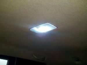 LED interior lamp module in Tacoma