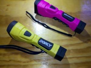 Dorcy LED flashlights